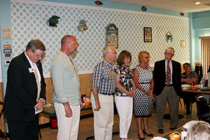 gallery Recognizing the outgoing club officers