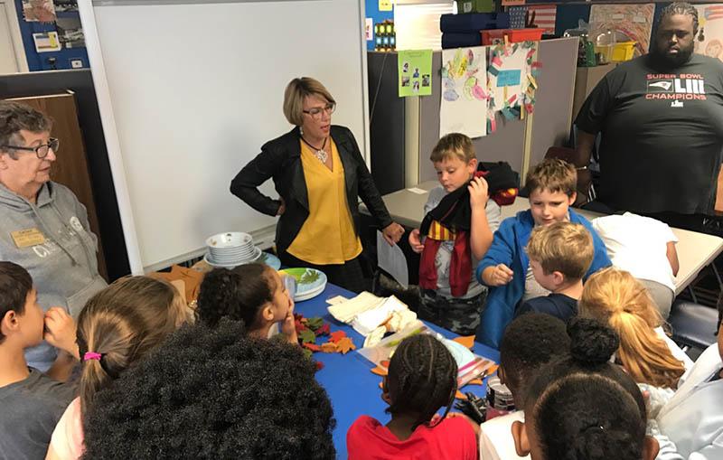 Photo of teaching etiquette