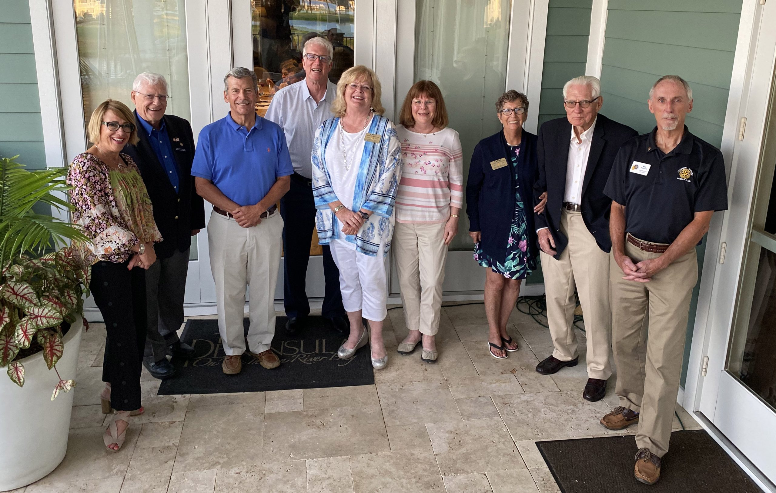 Long Neck Sunrise Rotary Club Officers