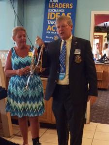 District Governor Graves challenges club to Be Epic
