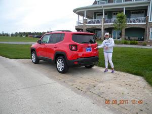 Tracey and the Hole In One grand prize