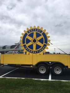 Rotary Sign Huge